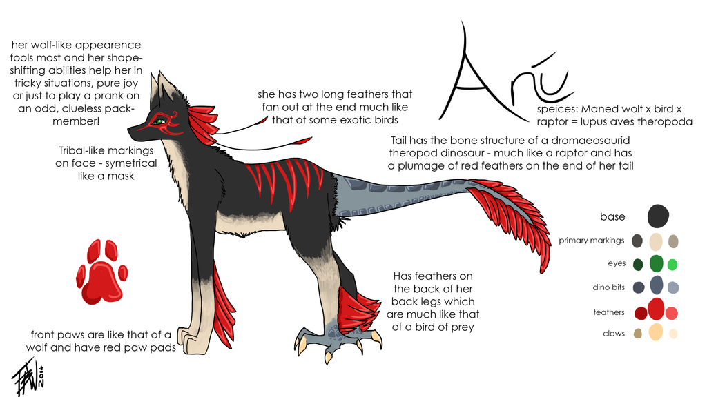 Character Design Contest 2014 : Contest ani character design by aryjak on deviantart