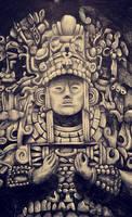 Mayan sculpture - Exam piece