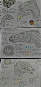 Summer research - Dinosaur studies