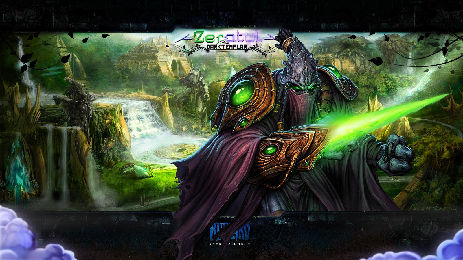 Starcraft ii zeratul wallpaper by c4stillman on deviantart - Starcraft 2 wallpaper art ...