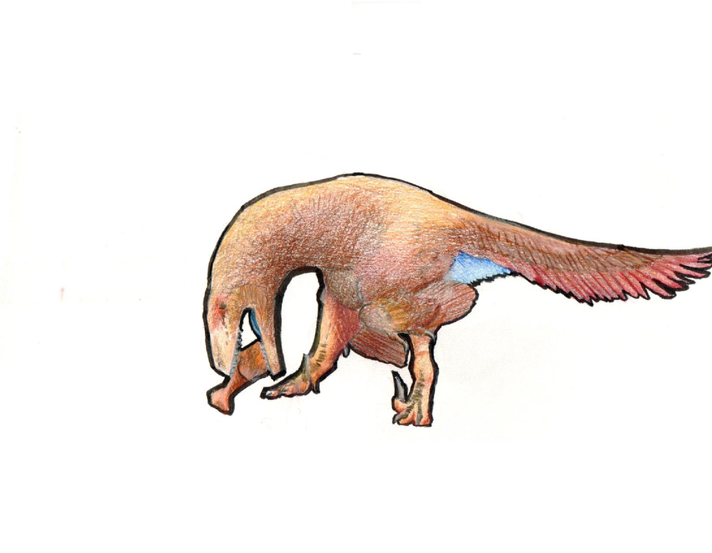 Utahraptor ostrommaysorum by TheTerritorialTrike