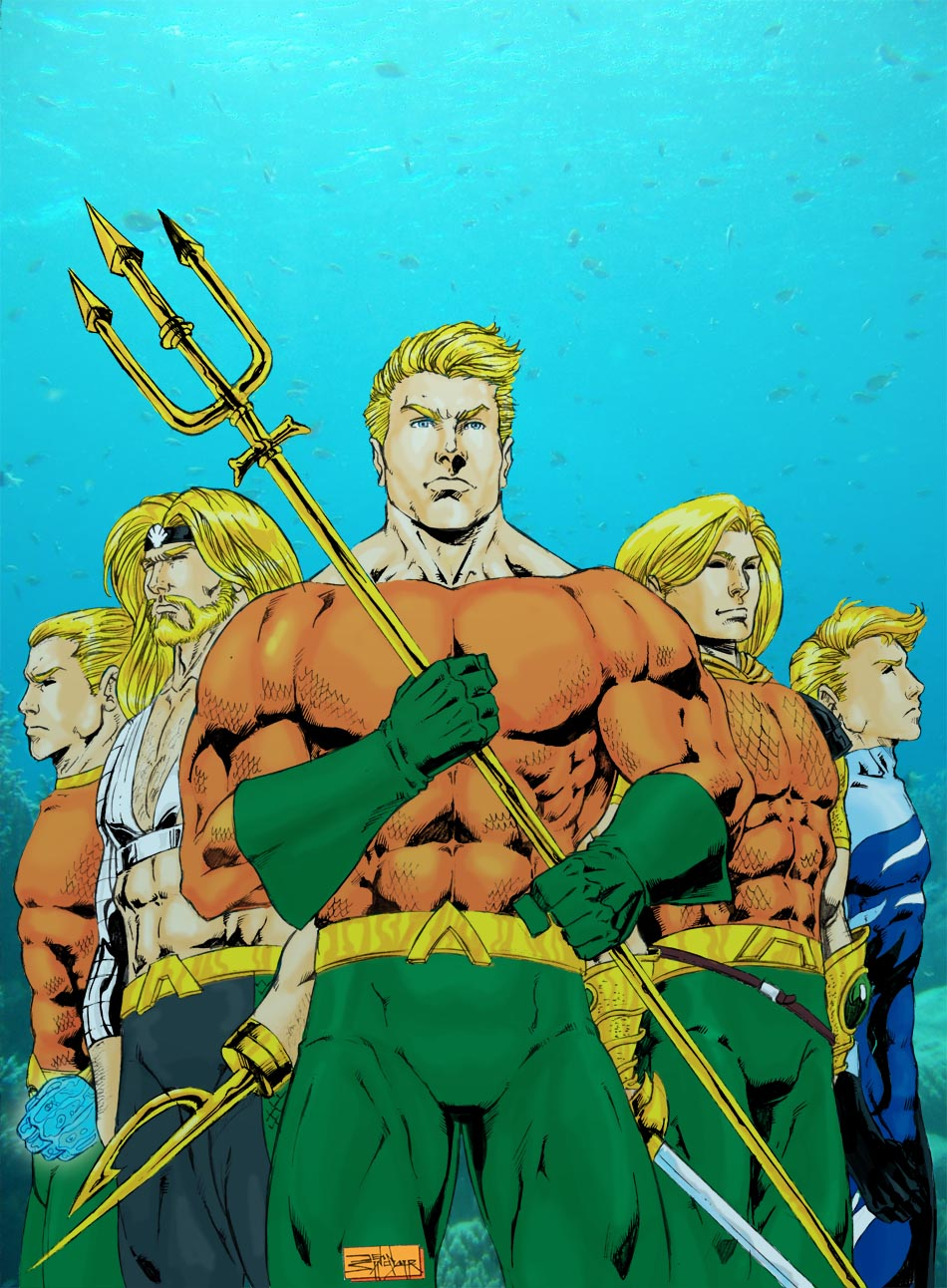 Aquaman Colors