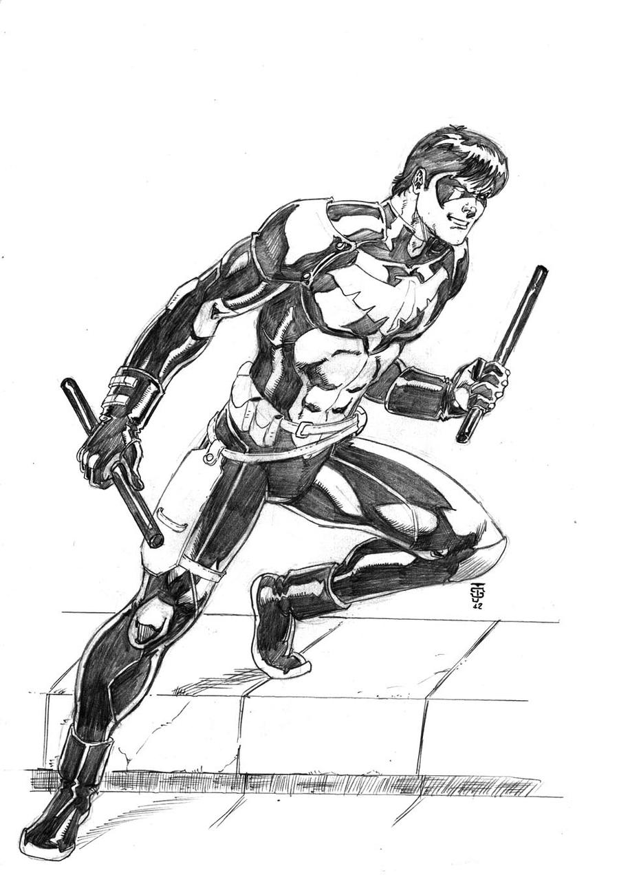 Nightwing:Young Justice by JeanSinclairArts on DeviantArt