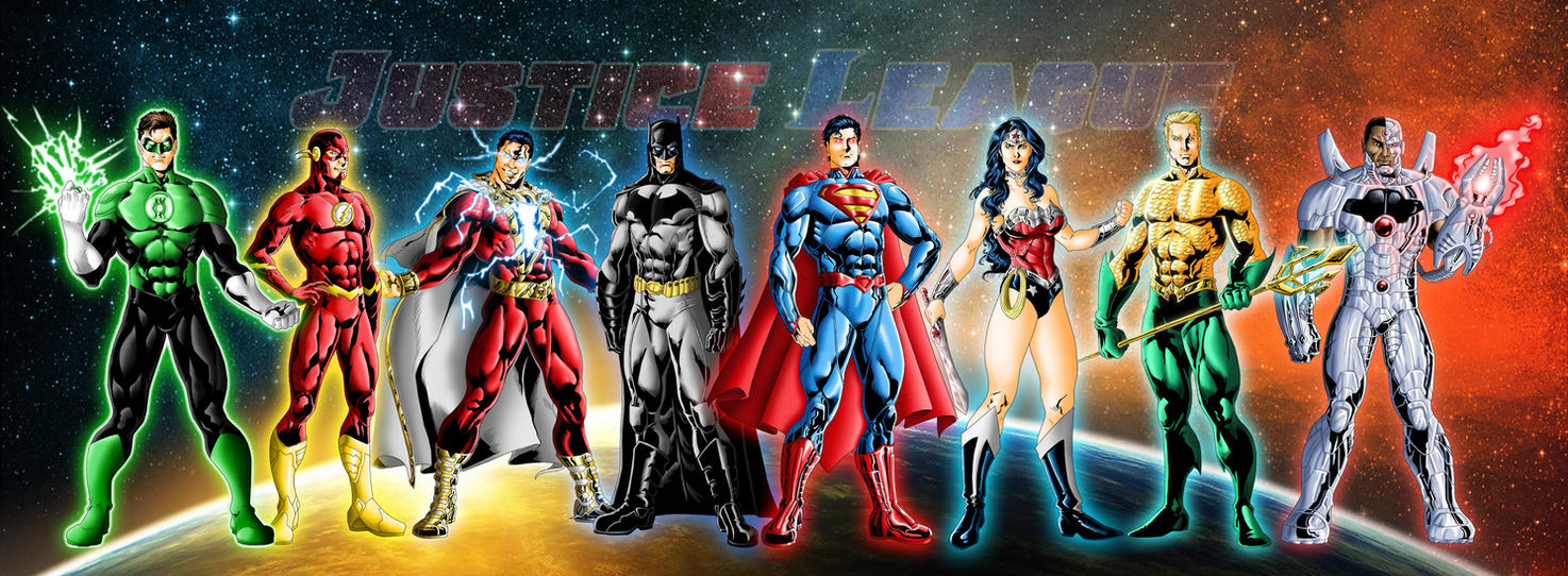 New 52 Justice League By JeanSinclairArts