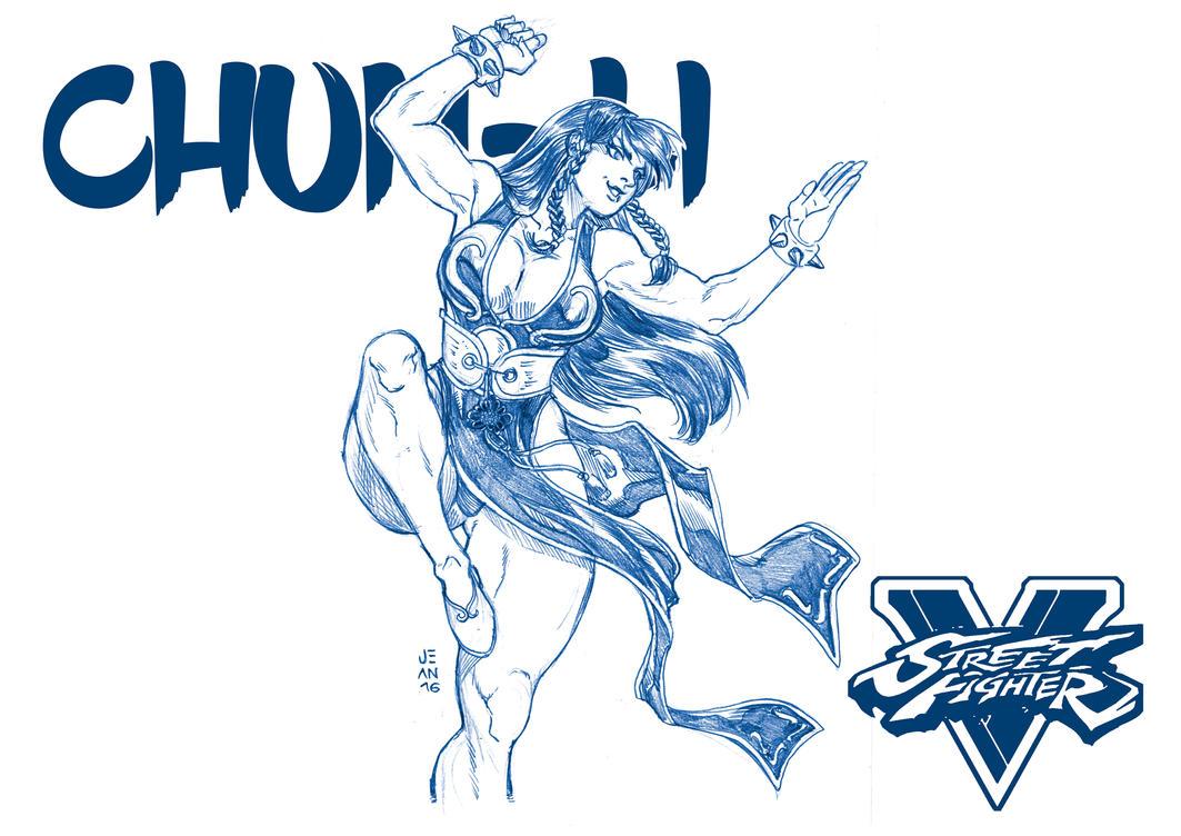 Pubg By Sodano On Deviantart: Hot Chun-Li Street Fighter V By JeanSinclairArts On DeviantArt