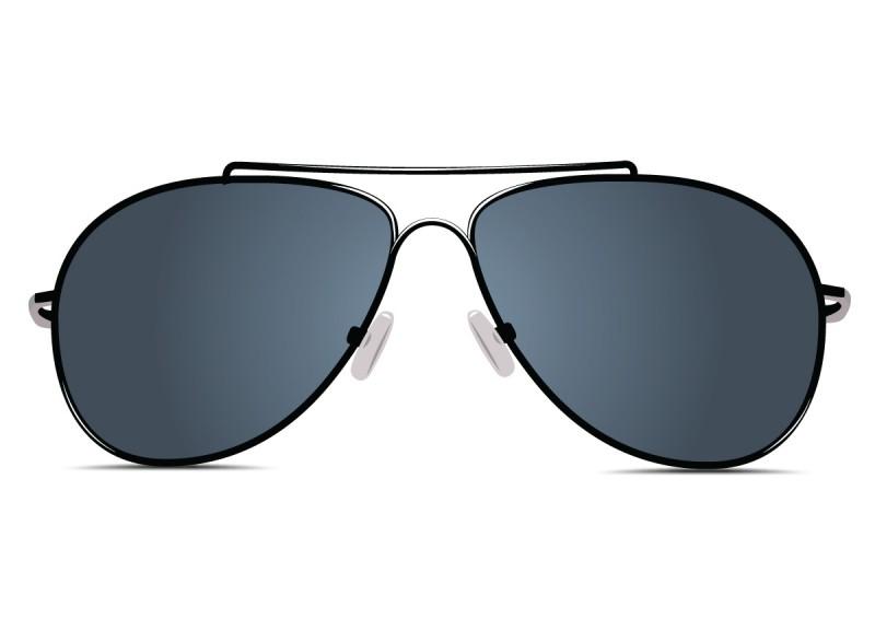 Black Glasses Ray Ban
