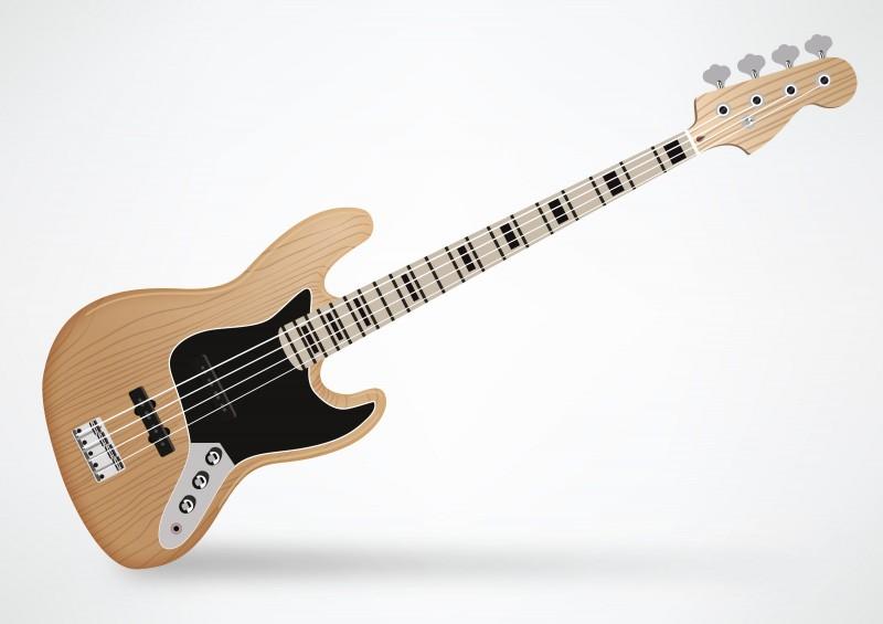 fender jazz bass guitar by superawesomevectors on deviantart