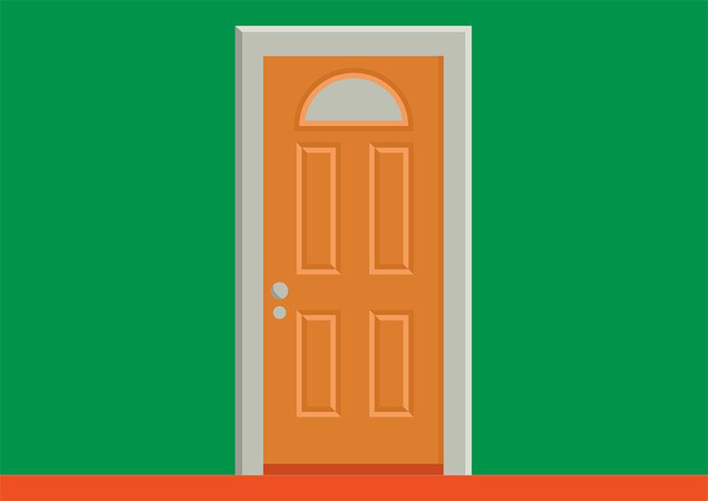 Flat Vector Door By Superawesomevectors On Deviantart