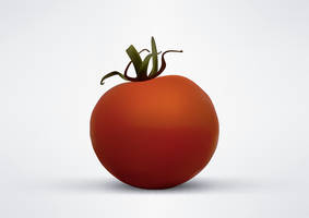 Vector Tomato Illustration by superawesomevectors
