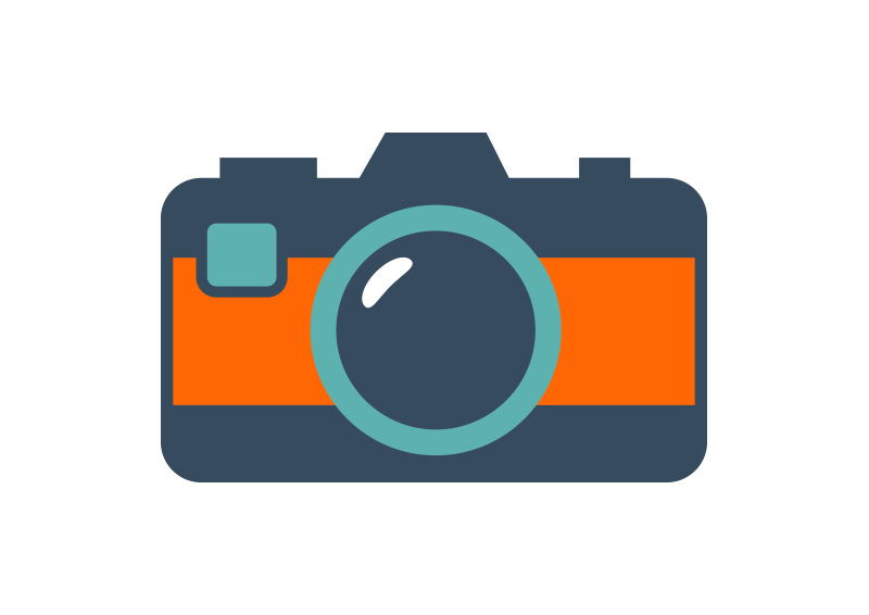 Flat-camera-icon by superawesomevectors