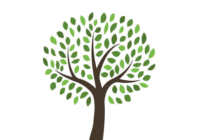 Free vector tree illustration by superawesomevectors on deviantart - Tree images free download ...