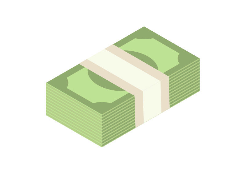 pack of money isometric flat vector by superawesomevectors on deviantart