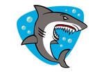 Shark Cartoon Free Vector Illustration