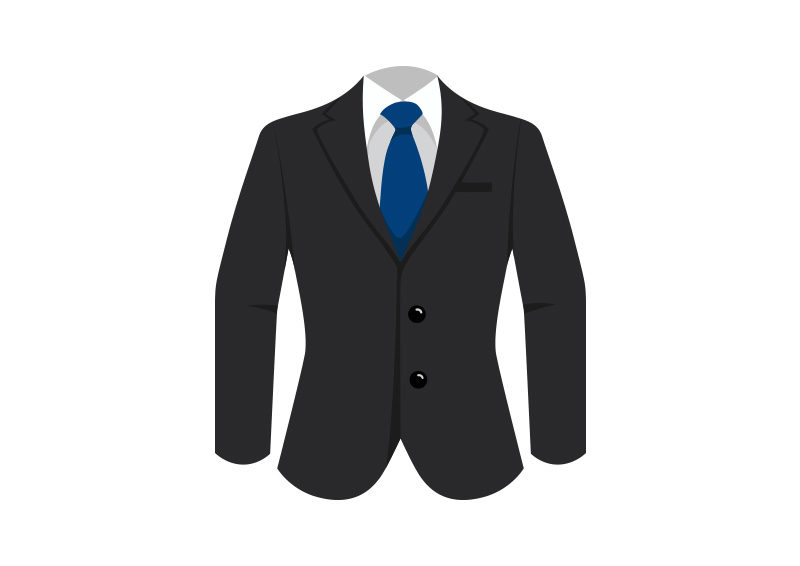 Man Suit With Blue Tie Free Vector by superawesomevectors ...