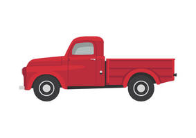 Dodge Series B Pickup 1952 Car by superawesomevectors