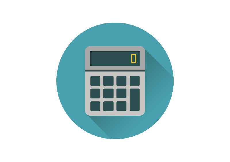 flat calculator vector icon by superawesomevectors on deviantart