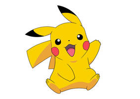 Pikachu Pokemon Vector by superawesomevectors