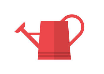 Flat Watering Can by superawesomevectors