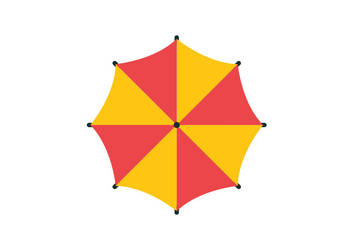 Umbrella-flat-vector-800x566 by superawesomevectors
