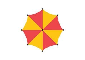 Umbrella-flat-vector-800x566