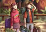 Mabel and Dipper Pines