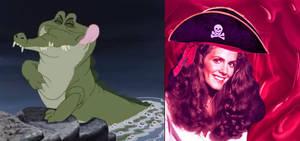 Captain Elaine Fills Tick Tock's Tummy