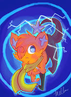 shinx used discharge by mellowhead