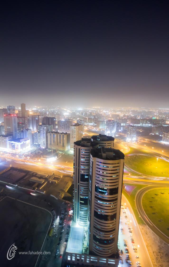 Sharjah Night for u by fahadee
