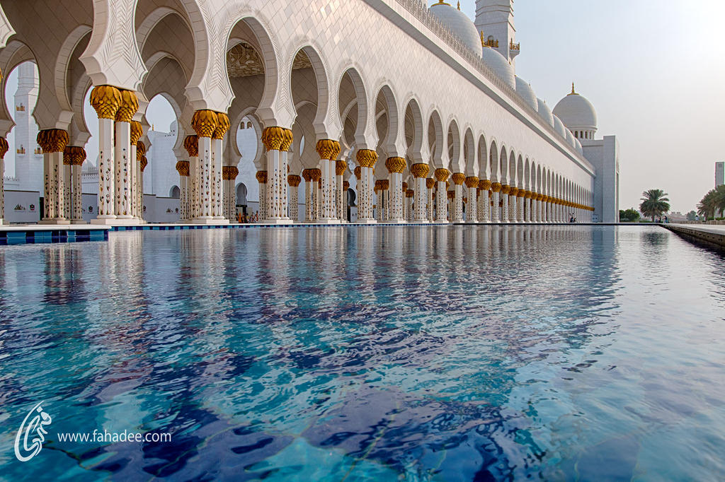 Sheikh Zayed Mosque by fahadee