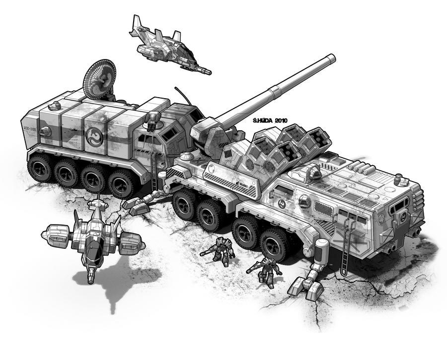 Teppo Command vehicle by StephenHuda