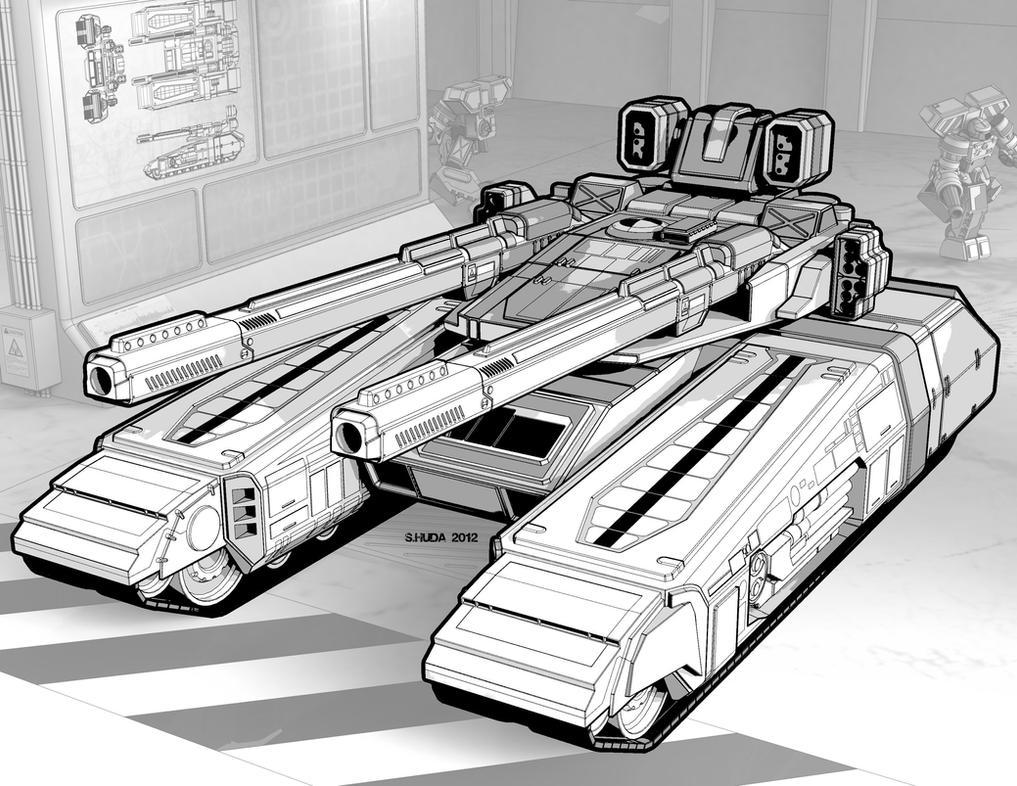 Xuab-Wu Tank by StephenHuda