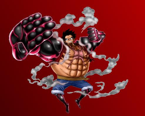 Monkey D. Luffy [Gear ... One Piece Wallpaper Luffy Gear Fourth