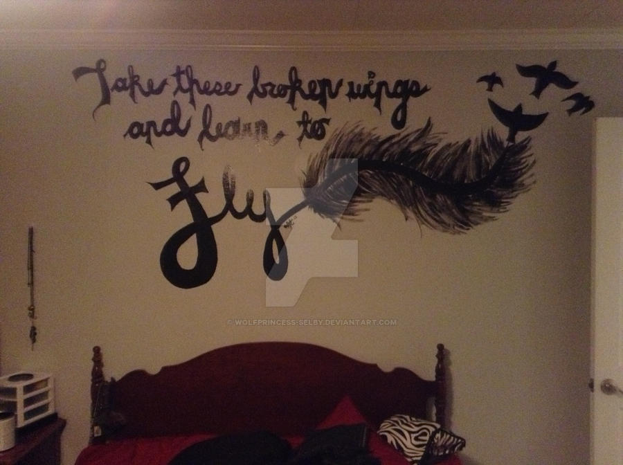 My bedroom wall mural  by wolfprincess selby. My bedroom wall mural  by wolfprincess selby on DeviantArt