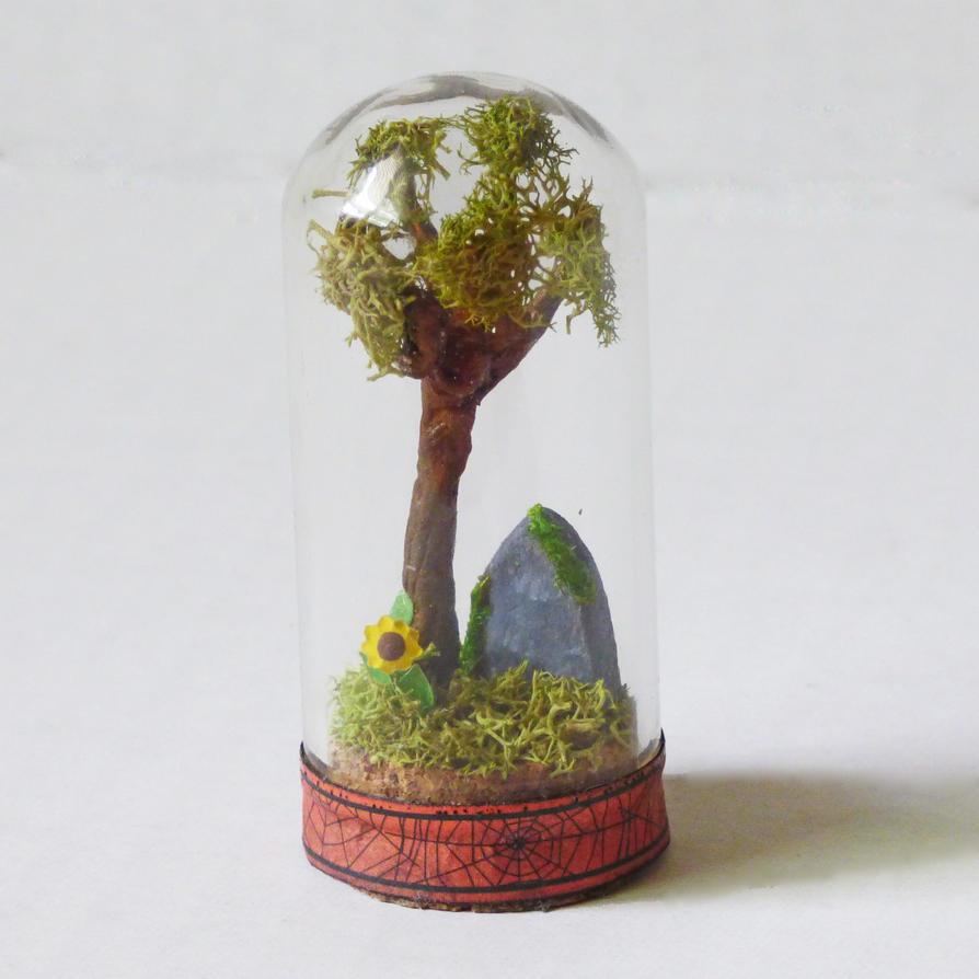 Miniature Grave Diorama by NacreousAlchemy