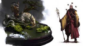 Tang monk