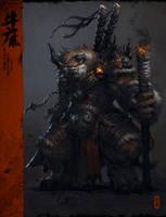 The Bull Demon by yangqi917