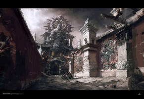 Temple by yangqi917