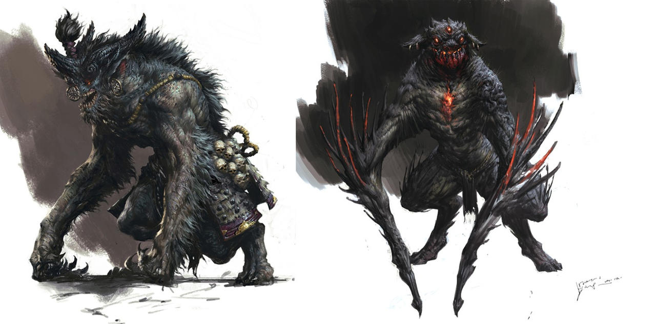 Monster by yangqi917