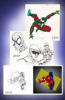 Spidey Progression Dated by ChargedGraphite