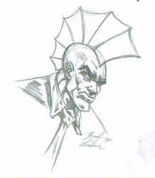 Savage Dragon Sketch by ChargedGraphite