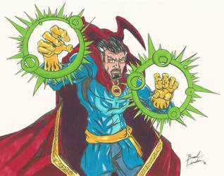 Dr. Strange by ChargedGraphite
