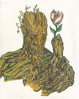 Groot! by ChargedGraphite