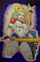 Harley Quinn by ChargedGraphite