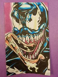Venom - Marvel Comics by ChargedGraphite