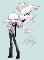 [Stickman OC] Smo and King by OPHake