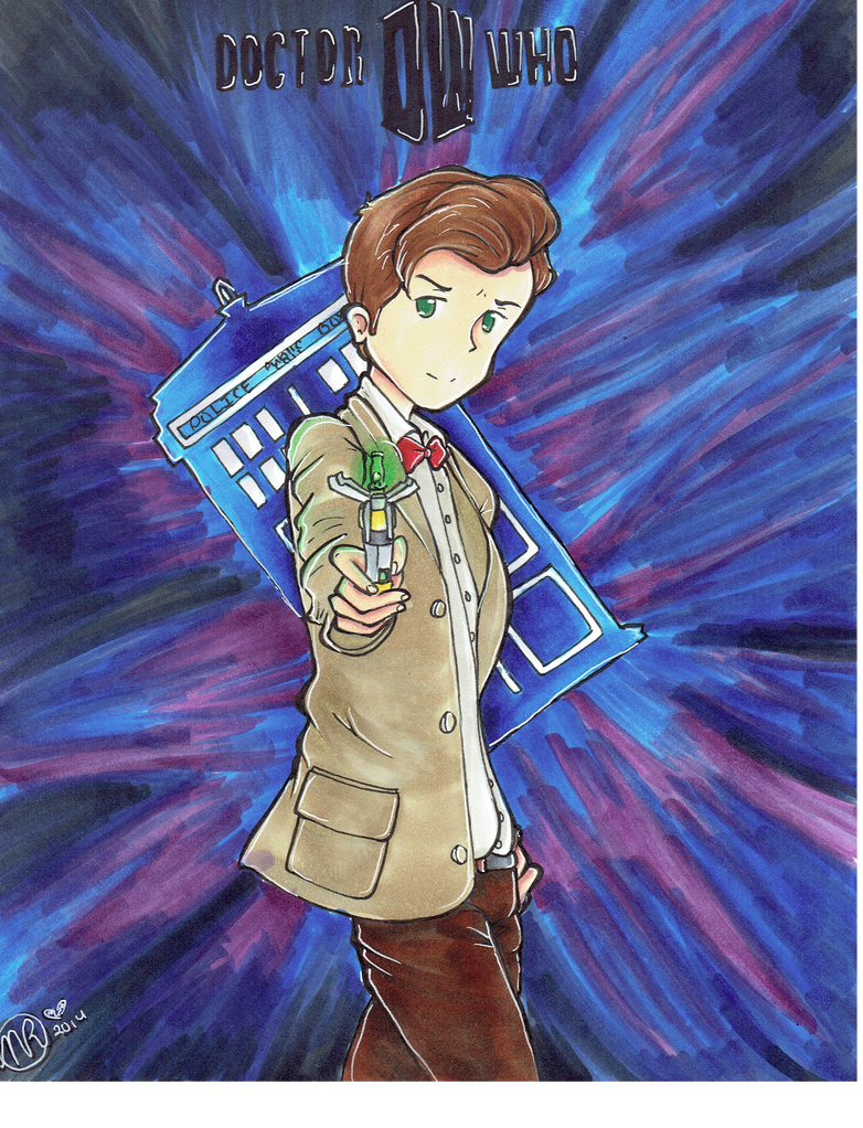 Doctor Who by DesuPurpalHoodie