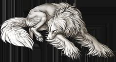 Silky Beardog sleep premade by sevas-tra