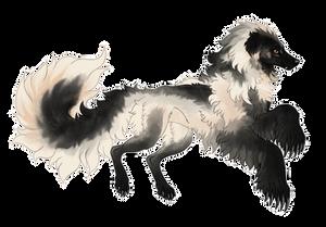 Silky Beardog #83 by markedwolf