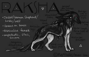 Raksha by markedwolf