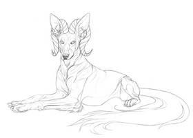 Nizhoni by markedwolf